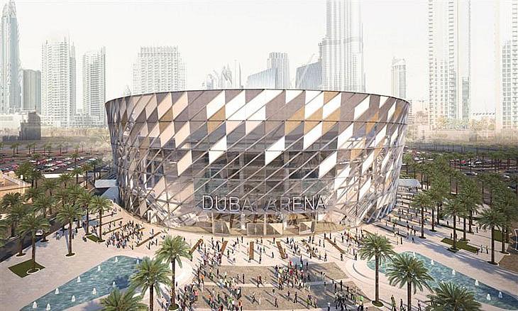 Dubai Arena.