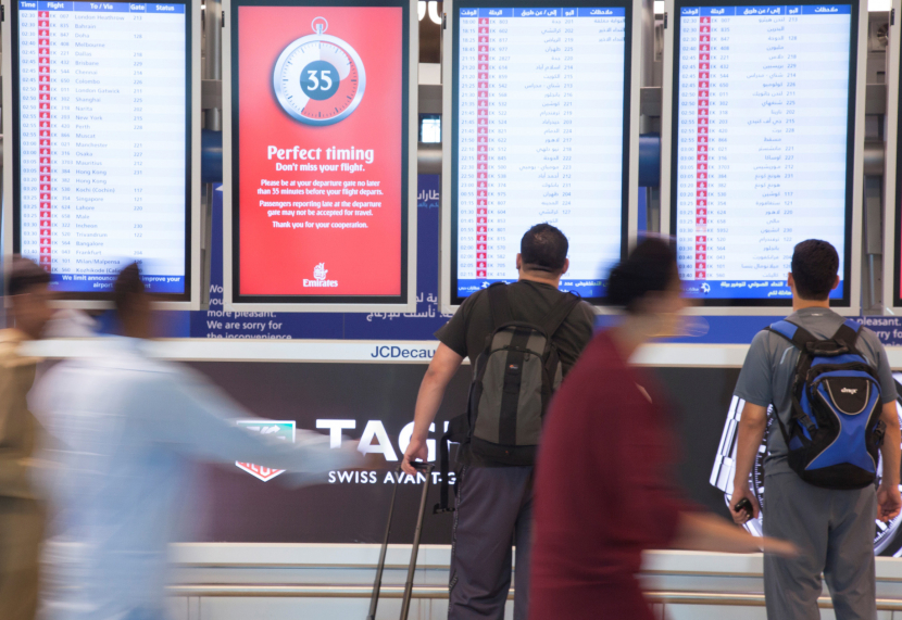 DXB airport will now be on TV.