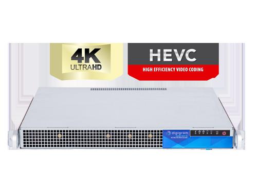 Digigram's AQORD 4K Ultra HD HEVC Encoder.