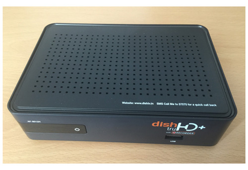 The shop was discovered selling unauthorised services and set-top boxes like the one pictured.