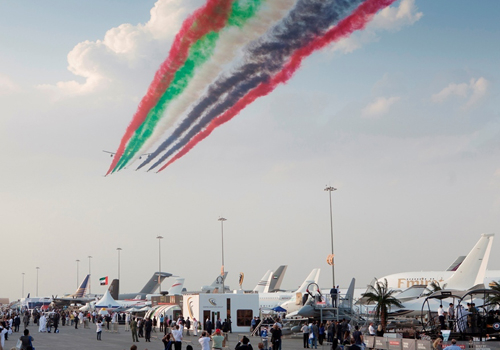The new agreement will see GES delivering services for the Dubai Airshow.