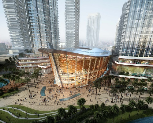 The Dubai Opera house is scheduled to open later this year.