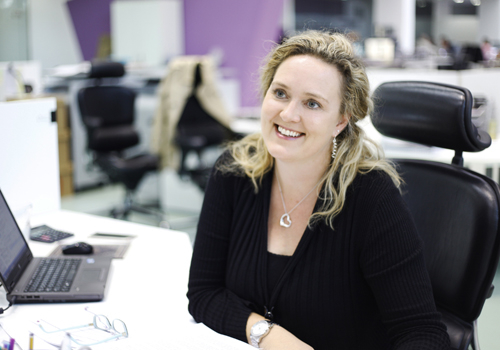 Emma Clark, event director at Action Impact.