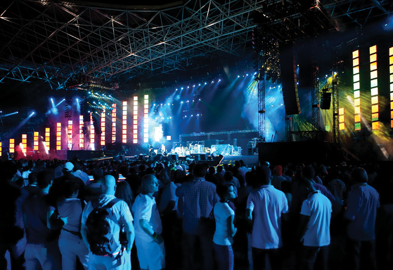 More than 150,000 people attended the four-day concert series.