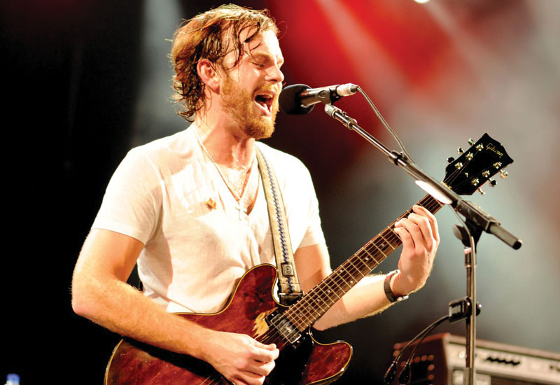 Kings of Leon performed on the penultimate night of the series.