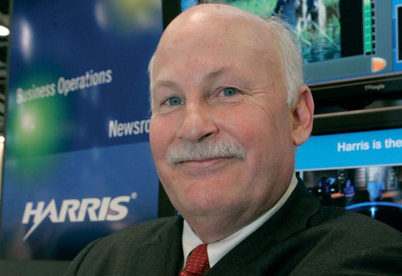 Harris Broadcast president Tim Thorsteinson.