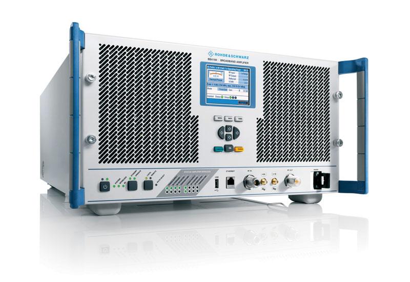 The Rohde & Schwarz BBA100 Amplifier.