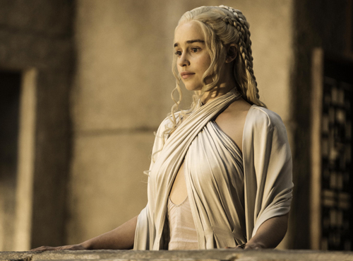 Emilia Clarke as Daenerys Targaryen/Khaleesi (Photo: Helen Sloan, HBO).
