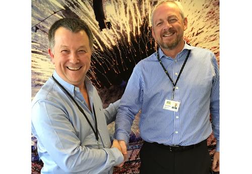 HSL's MD Simon Stuart (left) with new FD and strategist  Mick Seddon.