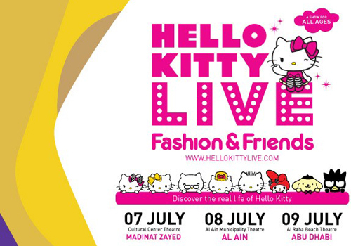 2016, Abu Dhabi, Abu Dhabi Summer Season, Al ain, Alchemy Project, Cartoon, Children, Hello Kitty, Hello Kitty Live, Kids, LIVE, Show, Stage, Summer, Tickets, Western Region, News, Live Events