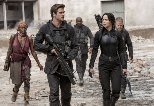 The Hunger Games: Mockingjay Part I features often in the nominations list.
