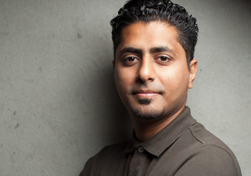 Hussain Yoosuf (A.K.A. 'Spek'), founder and board director of PopArabia.