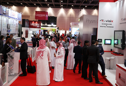 Visitor numbers increased by 12 per cent at this year's InfoComm MEA.