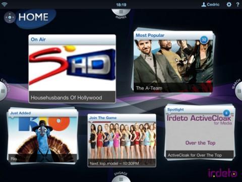Irdeto Multi-screen was showcased at TV Connect MENA 2014