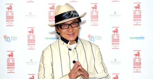 Jackie Chan is filming his next movie in Dubai.