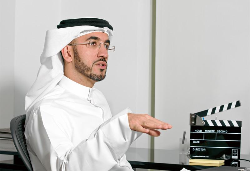 Jamal Al Sharif, chairman of Dubai Film and TV Commission.