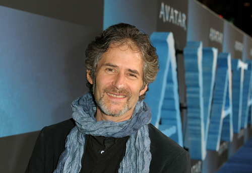 James Horner attends the world premiere of 'Avatar' in 2009.