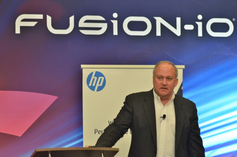 Jeff Wood, vice president, Worldwide Product Management, Commercial Solutions Business Unit, HP.