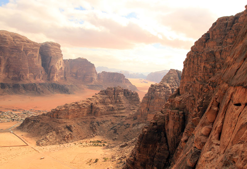 Jordan's Wadi Rum desert was used by Ridley Scott to film key sequences of The Martian.