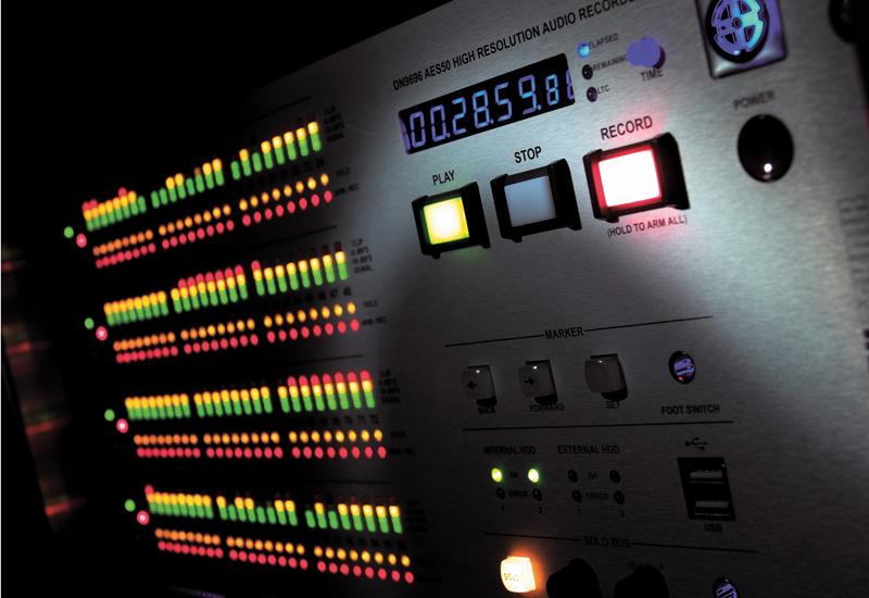 Klark Teknik's DN9696 audio recorder.