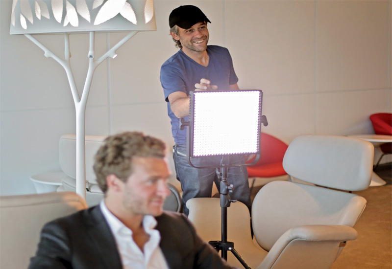 Film maker Sebastien Devaud is a dedicated Litepanels fan.