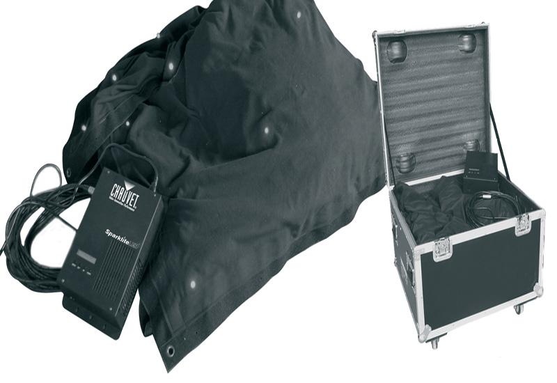 Chauvet - SparkliteLED Drape and Sparkliteled Controller.