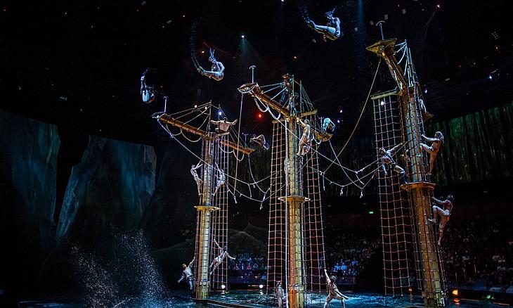 La Perle will take place in a tailor-made, permanent 'aqua theatre'.