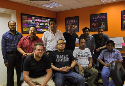 The Lighthouse Dubai team.