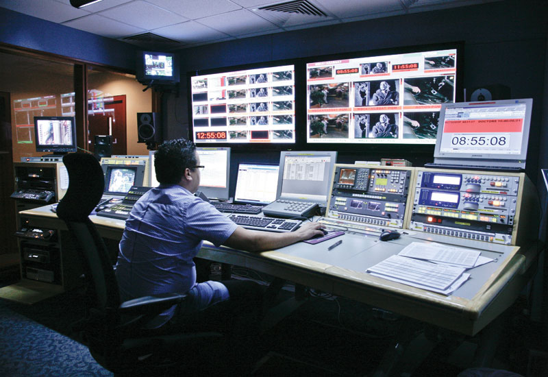 TV piracy is also affecting the creative and production industries in the UAE.