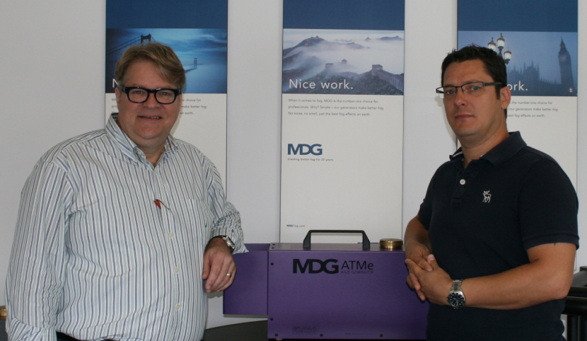 Martin Michaud, MDG president & CEO, welcomes Matt Wiseman of MDGfog UK Ltd to the MDG family.
