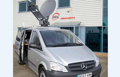Megahertz will exhibit its newsgathering vehicle at IBC.