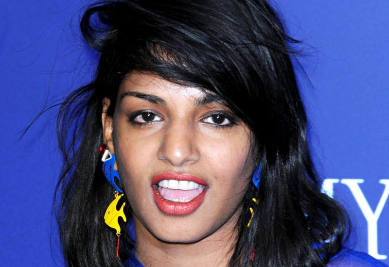 This is not the first time M.I.A has been the subject of controversy - her politically-fuelled outbursts have attracted attention previously.