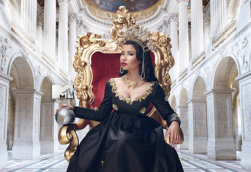 Nicki Minaj will host tonight's proceedings.