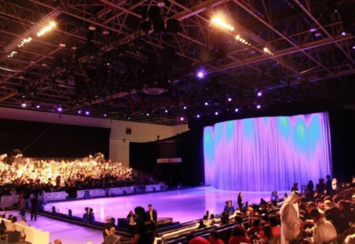 Disney on Ice presents Rockin' Ever After.