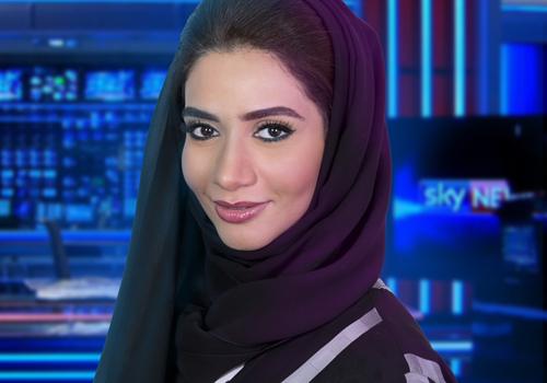 Mahra Al Yaqoubi, manager of Sky News Arabia's SNAP training programme.