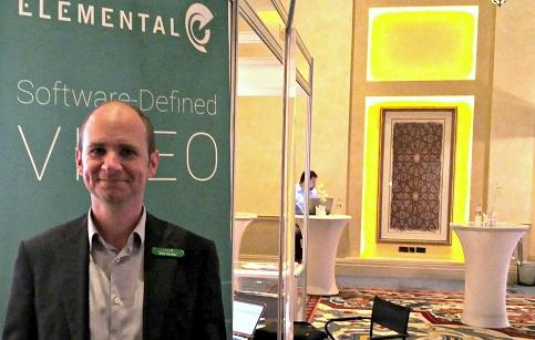 Mark Horchler, marketing manager for the EMEA region, Elemental
