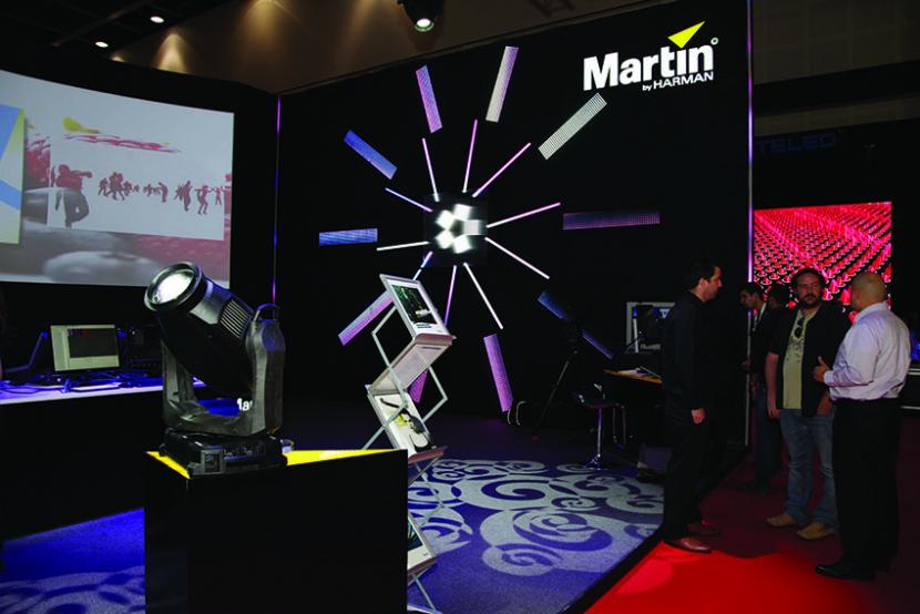 Martin Professional at InfoComm MEA, stand TA-G1.