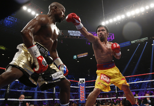 In May this year, Mayweather vs. Pacquiao was the richest boxing fight in history.