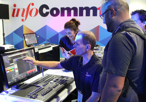 2016, Dicolor, Infocomm, Las Vegas, Mega Systems Inc., Mega-Lite, RGBLink, News, International News, Inc.