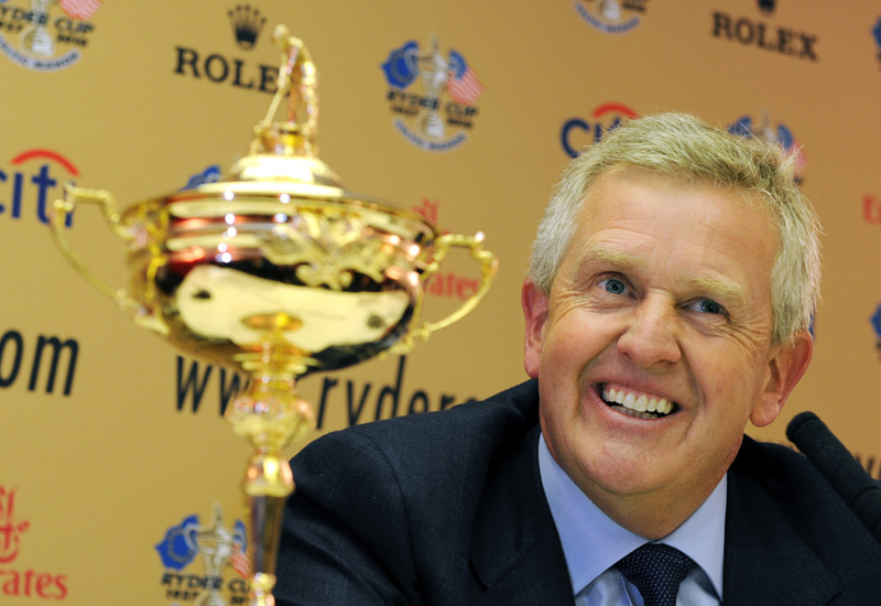 Colin Montgomerie hopes his European team can prevail at Celtic Manor.