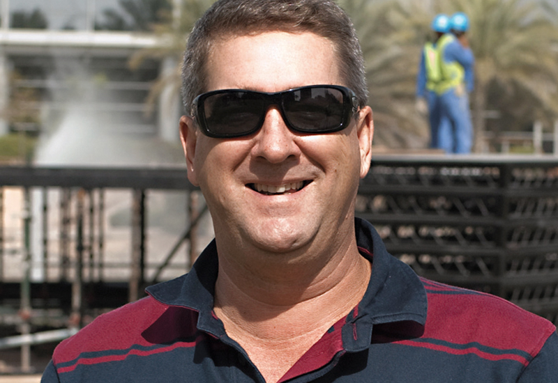 TONY NOBBS, managing director of Al Laith Scaffolding