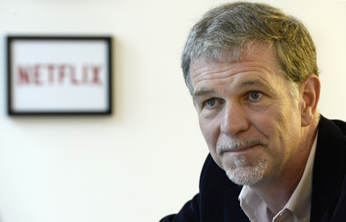 Netflix CEO, Reed Hastings.
