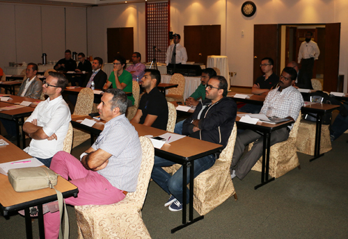 Participants at last year's NMK Roadshow.