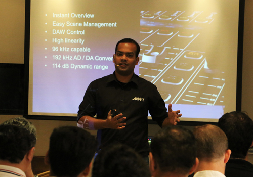 Attendees learnt about NMK's portfolio of products and discussed various scenarios and challenges in the industry.
