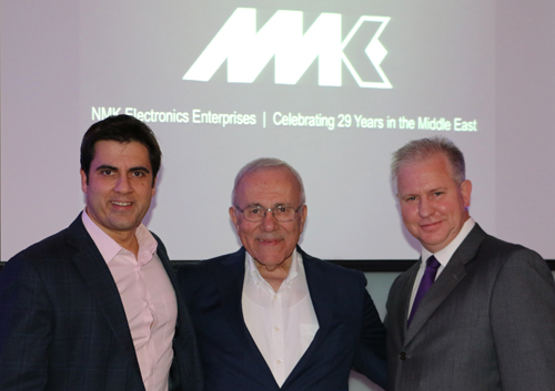 NMK has signed a distribution agreement with Bose Professional.