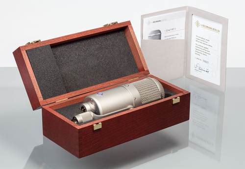 The Collectors Edition U 47 fet - with wooden case and individual certificate.