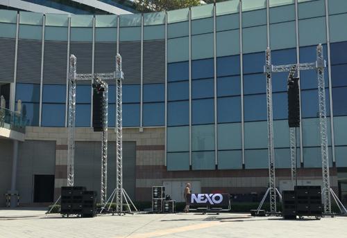 Audio, Dubai, GEO M6, LIVE, Loudspeakers, Nexo, Sound, STM M28, System, News, Content management