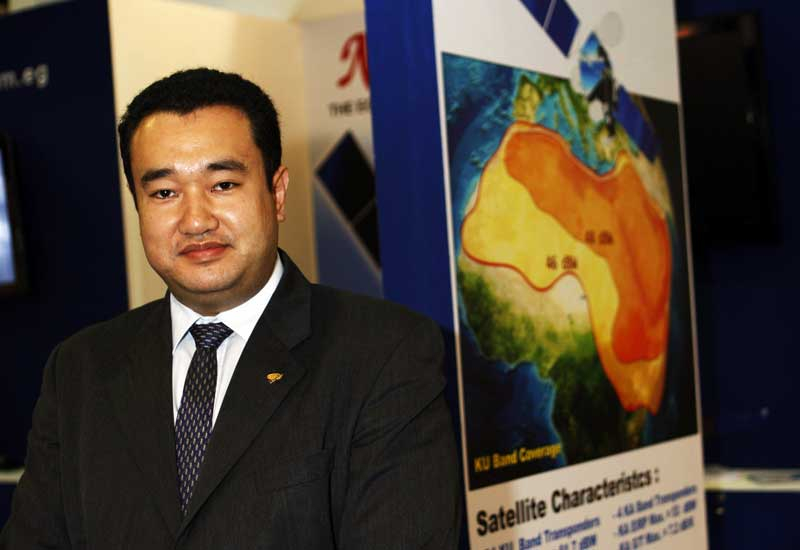 Mohamed El -Sawy, Marketing Engineer of Nilesat.