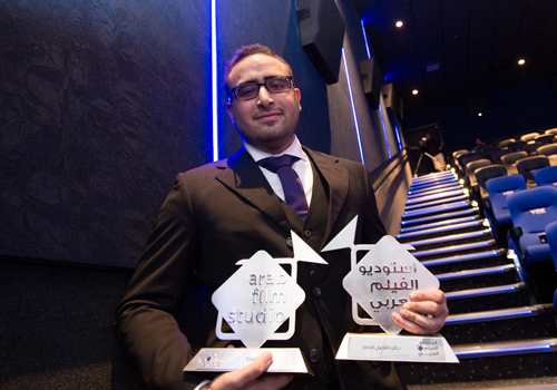 Omar Adam scooped the top prize at AFS 2015.