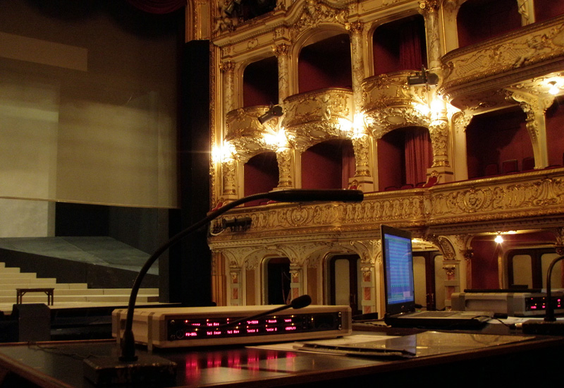 The Zurich Opera House was built in 1834 and it became the focus of Richard Wagner's activities during his period of 'exile' from Germany.